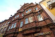 Heidelberg..Renaissance-Haus zum Ritter St. Georg