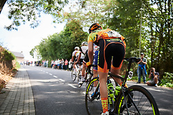 The break approach the top of the categorised climb at Boels Ladies Tour 2018 - Stage 5, a 159.7km road race in Sittard, Netherlands on September 1, 2018. Photo by Sean Robinson/velofocus.com