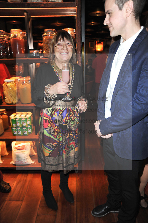 HILARY ALEXANDER at a dinner in honour of Andre Leon Talley and Manolo Blahnik held at The Spice Market restaurant at W London, Leicester Square, London on 14th March 2011.