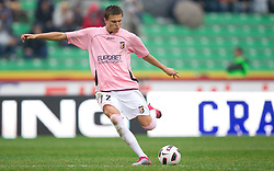 Josip Ilicic of Palermo during football match between Udinese Calcio and Palermo in 8th Round of Italian Seria A league, on October 24, 2010 at Stadium Friuli, Udine, Italy.  Udinese defeated Palermo 2 - 1. (Photo By Vid Ponikvar / Sportida.com)