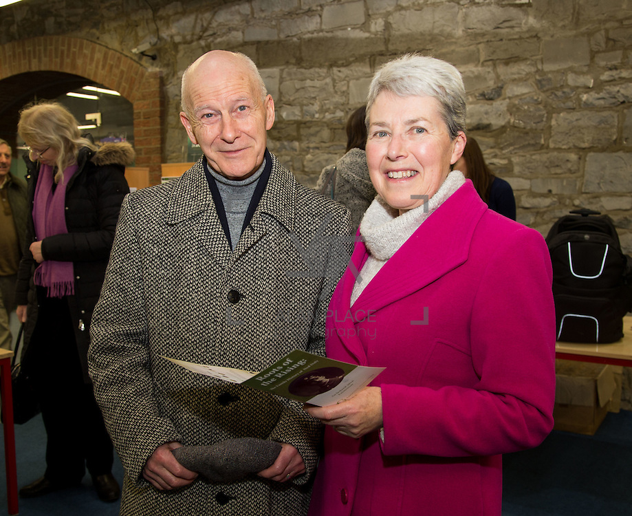 26.02.2016<br /> Roots of The Rising Exhibition, Limerick City Library. <br /> Attending the event were, Jack and Margaret McBride. Picture: Alan Place