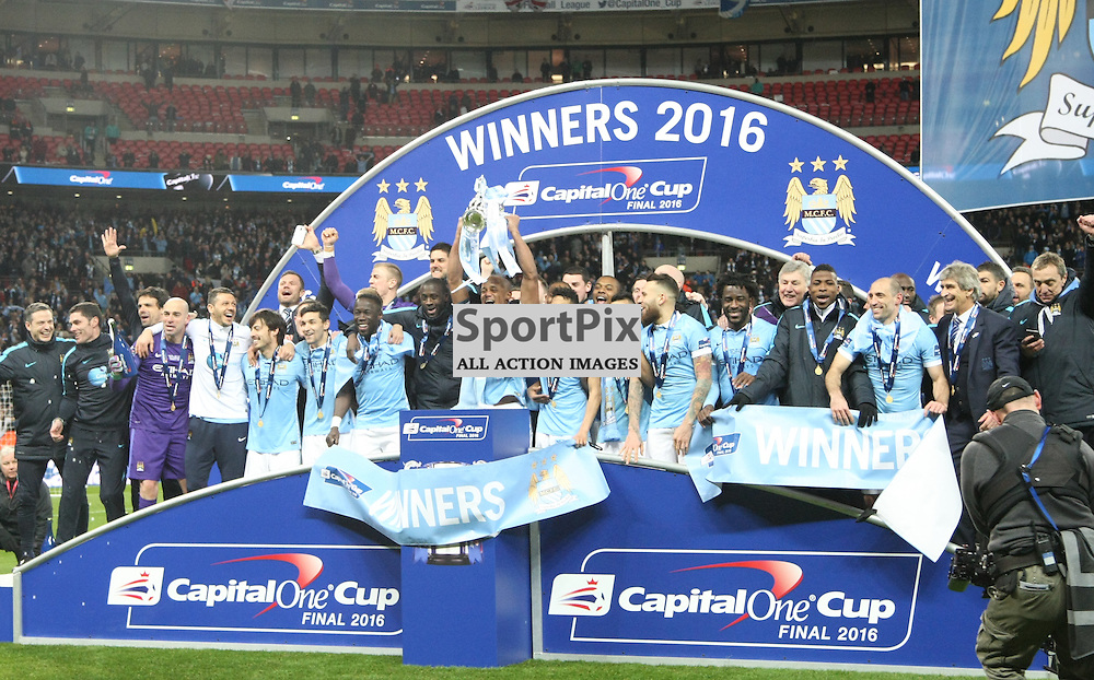 Manchester City Capital One Cup Final winners 2016