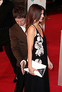 Feb 8, 2015 - EE British Academy Film Awards 2015 - Red Carpet Arrivals at Royal Opera House<br /> <br /> Pictured: Noel Gallagher and Sara MacDonald<br /> ©Exclusivepix Media