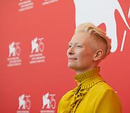 Suspiria film photocall - Venice Film Festival