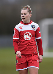 Bristol Academy's Nikki Watts - Photo mandatory by-line: Paul Knight/JMP - Mobile: 07966 386802 - 01/03/2015 - SPORT - Football - Bristol - Stoke Gifford Stadium - Bristol Academy Women v Aston Villa Ladies - Pre-season friendly