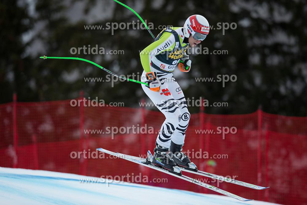 18.12.2013, Saslong, Groeden, ITA, FIS Ski Weltcup, Groeden, Abfahrt, Herren, 1. Traininglauf, im Bild Josef Ferstl (GER) // Josef Ferstl of Germany in action during mens 1st downhill practice of the Groeden FIS Ski Alpine World Cup at the Saslong Course in Gardena, Italy on 2012/12/18. EXPA Pictures © 2013, PhotoCredit: EXPA/ Johann Groder