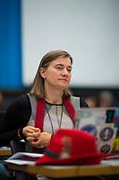 DEU, Deutschland, Germany, Berlin, 25.09.2018: Anke Domscheit-Berg (parteilos, MdB für DIE LINKE) bei einer Fraktionssitzung von DIE LINKE.