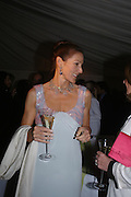 Lady Rotherwick. Cartier dinner after thecharity preview of the Chelsea Flower show. Chelsea Physic Garden. 23 May 2005. ONE TIME USE ONLY - DO NOT ARCHIVE  © Copyright Photograph by Dafydd Jones 66 Stockwell Park Rd. London SW9 0DA Tel 020 7733 0108 www.dafjones.com