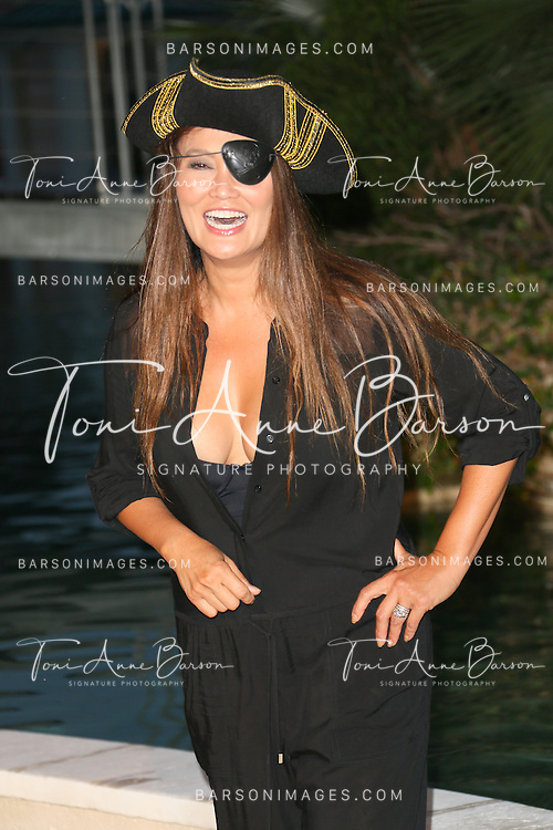 "MONTE-CARLO, MONACO - JUNE 10:  Tia Carrere attends ""Black Sails STARZ"" Party  at the Monte Carlo Bay Hotel on June 10, 2014 in Monte-Carlo, Monaco.  (Photo by Tony Barson/FilmMagic)"