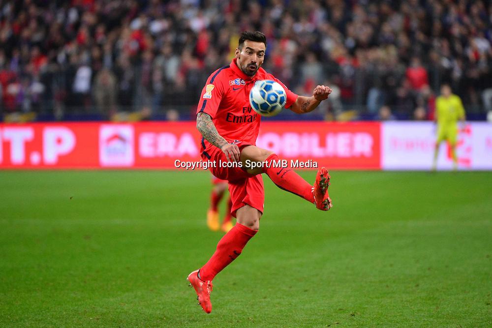 Ezequiel LAVEZZI    - 11.04.2015 -  Bastia / PSG - Finale de la Coupe de la Ligue 2015<br />Photo : Dave Winter / Icon Sport