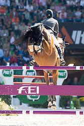 Sergio Alvarez Moya, (ESP), Action Breaker - First Round Team Competition Jumping Speed - Alltech FEI World Equestrian Games™ 2014 - Normandy, France.<br /> © Hippo Foto Team - Leanjo De Koster<br /> 03-09-14