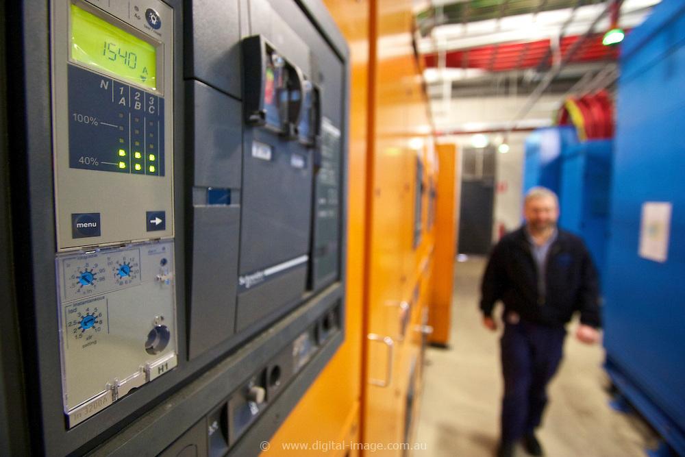 Uninterruptible Power Supply, UPS, at the Australian Synchrotron.