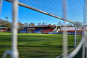 The Electrical Services Stadium befotre The FA Cup match between Aldershot Town and Rochdale at the EBB Stadium, Aldershot, England on 7 December 2014.