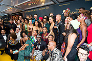 Nederlandse galapremiere van de Disney-klassieker Lion King in Pathe Tuschinski, Amsterdam.<br /> <br /> Op de foto: