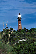 Currituck Beach Light, Corolla, North Carolina, USA.