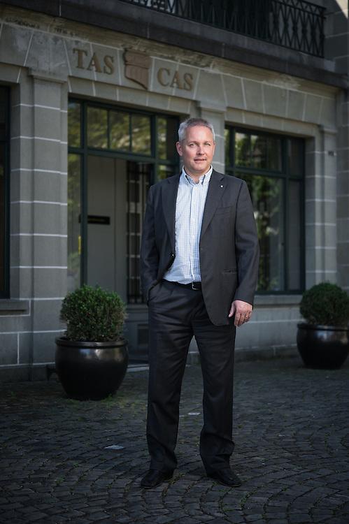 Matthieu Reeb, secrétaire général du Tribunal arbitral du sport (TAS). Lausanne, 20 juillet 2016.