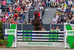 DONCKERS Karin (BEL), Fletcha van't Verahof<br /> Luhmühlen - LONGINES FEI Eventing European Championships 2019<br /> Finales Springen<br /> Show Jumping<br /> 01. September 2019<br /> © www.sportfotos-lafrentz.de/Dirk Caremans