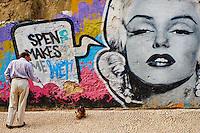 Portugal, Lisbonne, street art dans les rues de Lisbonne // Portugal, Lisbon, street art in the Lisbon street