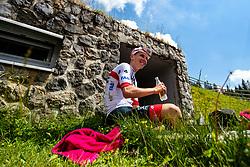 Tadej Pogacar at Sloveian Road Cycling Championship Time Trial 2020 Gorje - Pokljuka, on June 28, 2020 in Pokljuka, Slovenia. Photo by Matic Klansek Velej / Sportida