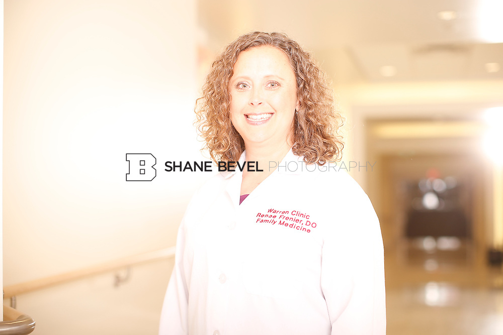 5/28/15 4:04:04 PM -- Dr. Renee Frenier of Saint Francis Health System poses for a portrait for the 2015 Advertising Campaign. <br /> <br /> Photo by Shane Bevel
