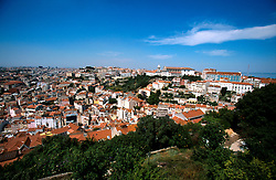PORTUGAL LISBON MAY99 - View on the Garca district from the Castelo.....jre/Photo by Jiri Rezac....© Jiri Rezac 1999....Tel:   +44 (0) 7050 110 417..Email: info@jirirezac.com..Web:   www.jirirezac.com