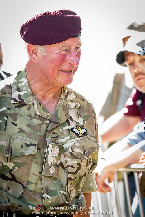 NLD/Ede/20190921- Prince Charles en Prinses Beatrix bij herdenking Airborne, Prins Charles