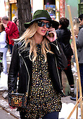 Nicky Hilton Rothschild Out In NY