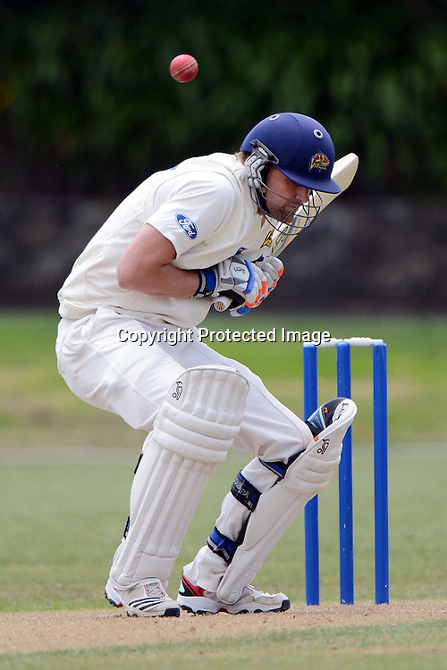 Sam Wells, Plunket shield, 4 day domestic cricket. Auckland Aces v Otago Volts, Eden Park No2, Auckland. 3 December 2012. Photo: Andrew Cornaga/photosport.co.nz