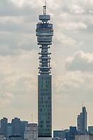 British Telecom tower (aka BT tower), London, UK.