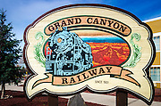 Grand Canyon Railway, Williams, Arizona USA