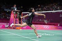 Saina Nehwal, India, Olympic Badminton London Wembley 2012
