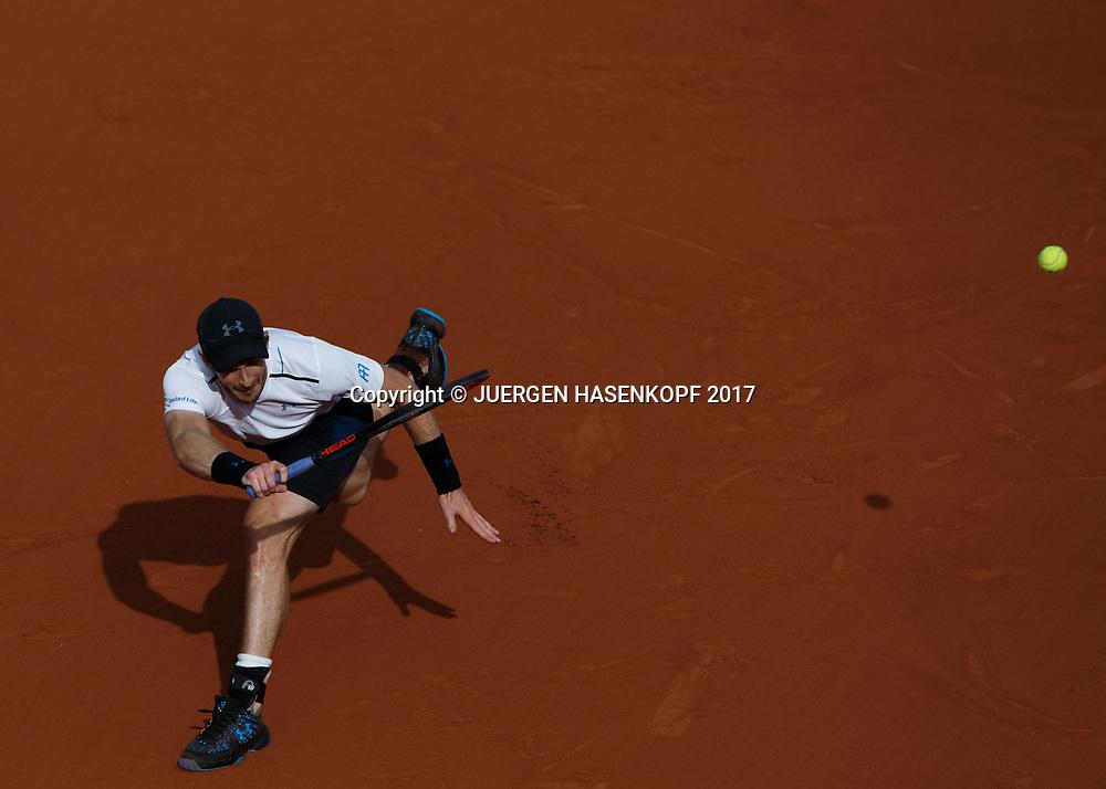 ANDY MURRAY (GBR)<br /> <br /> Tennis - French Open 2017 - Grand Slam / ATP / WTA / ITF -  Roland Garros - Paris -  - France  - 7 June 2017.