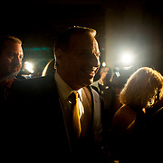 Mayoral candidate Bob Filner after addressing supporters at The Westin Gaslamp Quarter Hotel.