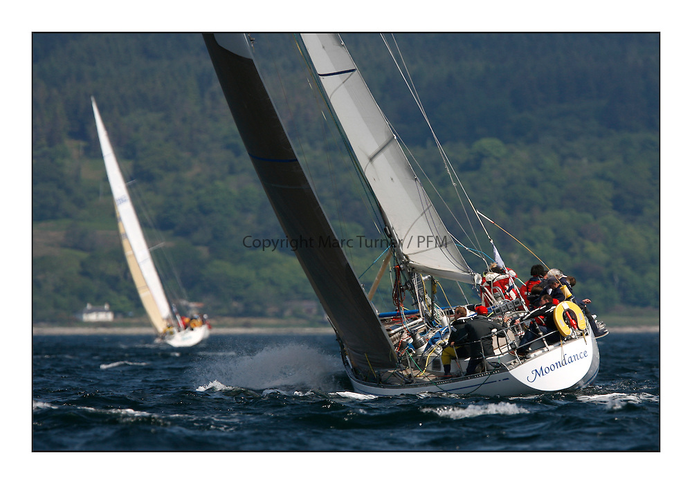 Bell Lawrie Scottish Series 2008. Fine North Easterly winds brought perfect racing conditions in this years event...Moondance 2198C