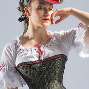 Costumier Sarah Carswell, La Coloratura. Costume Showcase 2014.