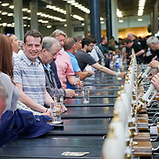 London,England,UK, 9th Aug 2016 : Hundreds of bees lovers attends the Great British Beer Festival Stage (GBBF) at at Kensington Olympia, London, UK. Photo by See Li