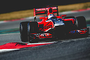 February 21, 2012: Formula One Testing, Circuit de Catalunya, Barcelona, Spain. Timo Glock, Marussia