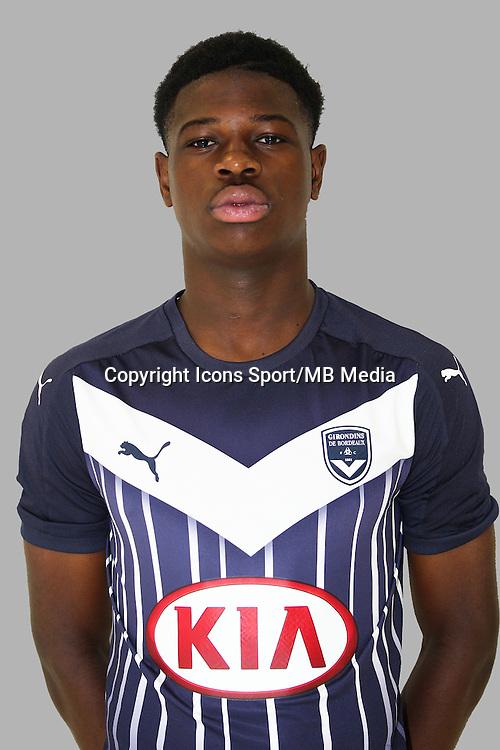 Kevin SONI - 20.09.2015 - Portrait Officiel Bordeaux<br /> Photo : Dominique Le Lan / Bordeaux / Icon Sport