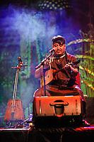 Ajinai performing at the Bali Spirit Festival, 22/3/2013.