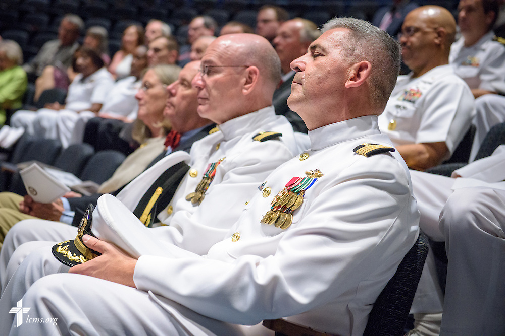 Photographs of the Retirement Ceremony and Change of Office in honor of Rear Admiral Rev. Dr. Daniel Lee Gard, Navy chaplain and president of Concordia University Chicago, at the United States Naval Memorial on Thursday, Sept. 22, 2016, in Washington, D.C. LCMS Communications/Erik M. Lunsford