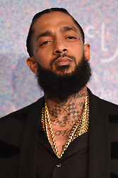 September 13, 2018 - New York, NY, USA - September 13, 2018  New York City..Nipsey Hussle attending the 4th Annual Clara Lionel Foundation Diamond Ball on September 13, 2018 in New York City. (Credit Image: © Kristin Callahan/Ace Pictures via ZUMA Press)