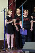 Curtin's internationally aclaimed and award-winning a cappella choir Rhythmos on stage at the Guildford Town Hall, opening the 2018 Guildford Songfest