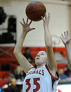 The Brookside High girls varsity basketball team defeated visiting Clearview on January 19, 2011.