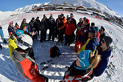 Announcing the cancellation of the competition at 2018 World Para Alpine Skiing World Cup, Tignes, France