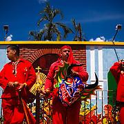 DANCING DEVILS OF YARE / LOS DIABLOS DE YARE<br /> San Francisco de Yare, Miranda State - Venezuela 2009.<br /> (Copyright © Aaron Sosa)