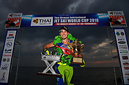 PATTAYA, THAILAND - DECEMBER 09: WHO in action during the Moto4 CAT at the  Thai Airways International Jet Ski World Cup 2018, Jomtien Beach, Pattaya, Thailand on December 09, 2018. <br /> .<br /> .<br /> .<br /> (Photo by: Naratip Golf Srisupab/SEALs Sports Images)<br /> .<br /> Any image use must include a mandatory credit line adjacent to the content which should read: Naratip Golf Srisupab/SEALs Sports Images