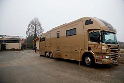 Pferdetransporter<br /> Emsbüren - Gestütsportrait Hengststation Tebbel 2017   <br /> © www.sportfotos-lafrentz.de/Stefan Lafrentz