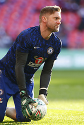 February 24, 2019 - London, England, United Kingdom - Chelsea's Robert Greenduring the pre-match warm-up .during during Carabao Cup Final between Chelsea and Manchester City at Wembley stadium , London, England on 24 Feb 2019. (Credit Image: © Action Foto Sport/NurPhoto via ZUMA Press)