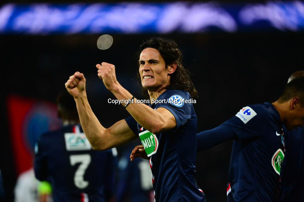 Joie Edinson CAVANI - 21.01.2015 - Paris Saint Germain / Bordeaux - Coupe de France<br />Photo : Dave Winter / Icon Sport