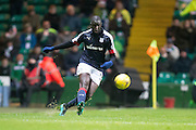Dundee's Kevin Gomis - Celtic v Dundee in the Ladbrokes Scottish Premiership at Celtic Park, Glasgow. Photo: David Young<br /> <br />  - © David Young - www.davidyoungphoto.co.uk - email: davidyoungphoto@gmail.com